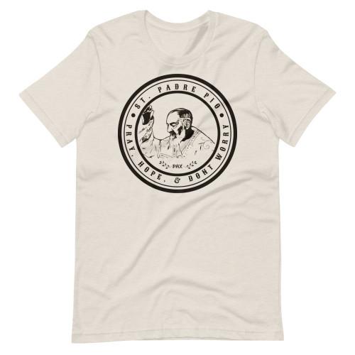 Padre Pio Short-Sleeve T-Shirt