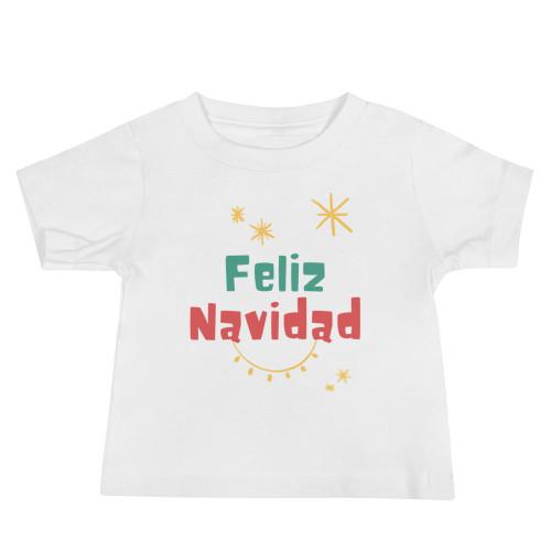 Feliz Navidad Baby Short Sleeve Tee