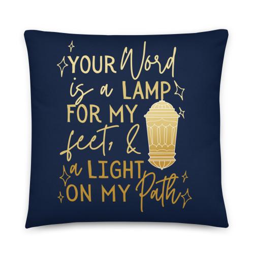 Psalm 119 Basic Pillow