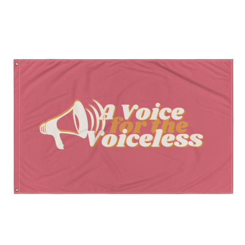 Voice for the Voiceless Flag