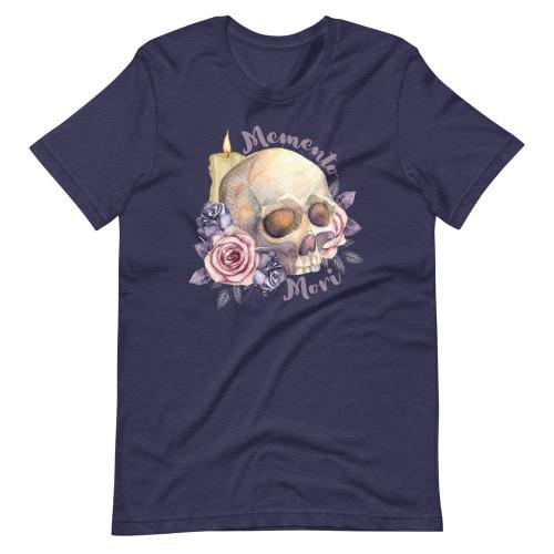 Feminine Memento Mori Short-Sleeve Unisex T-Shirt