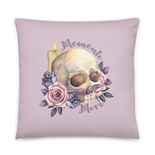 Feminine Memento Mori Basic Pillow