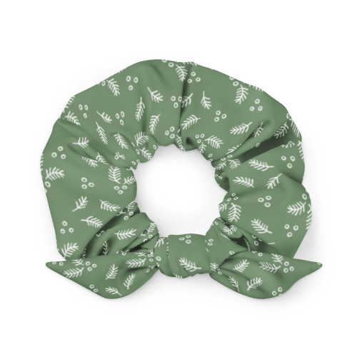 Holly and Ivy Scrunchie