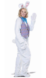 Easter Bunny Adult Costume back