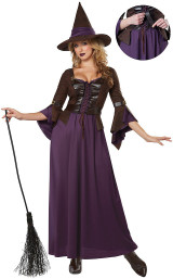 the witch of salem costume