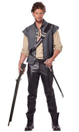 Renaissance/Captain Man Costume back