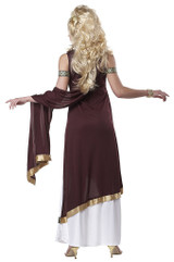 Roman Empress Plus Costume back