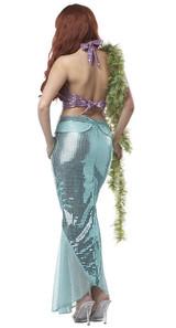 Ariel Mermaid Costume back