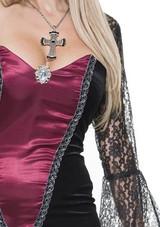 Lucy Women Vampire Gown Costume