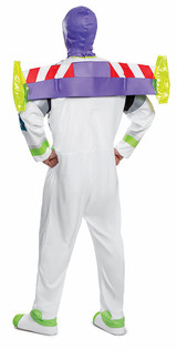 Buzz Lightyear Adult Costume back
