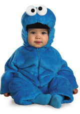 Cookie Monster Costume back