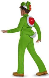 Yoshi Deluxe Child Costume back