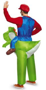 Super Mario Riding Yoshi Adult