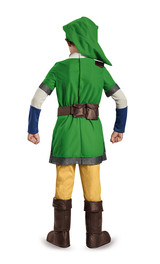 Zelda Link  Child Costume back