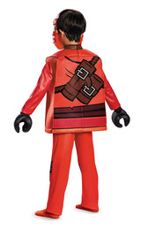 Lego Kai Kids Ninja Costume back