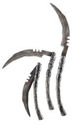 scythe halloween folding