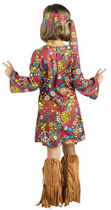 Peace & Love Hippie Toddler back