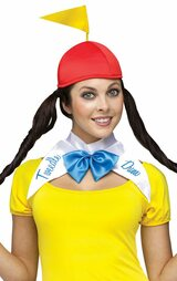 Tweedle Dee Dum Womens Costume back