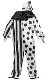 Killer Clown Adult Costume back