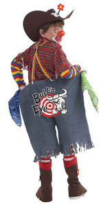Rodeo Clown Costume back