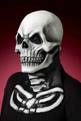 Skull mask with chest piece back
