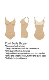 Firm Control Cami Body Shaper back