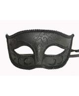 Classic Venetian Mask Black