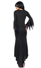 black gothic dress for women