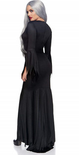 Womens Gothic Black Dress