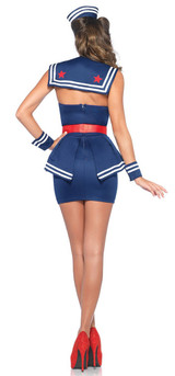 Aye Aye Amy Sailor Costume back