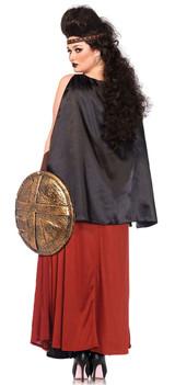 Spartan Warrior Plus Costume back