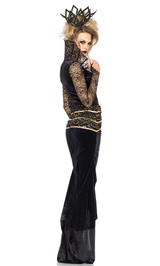 Deluxe Evil Queen Costume back