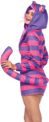 Cozy Cheshire Cat Costume back