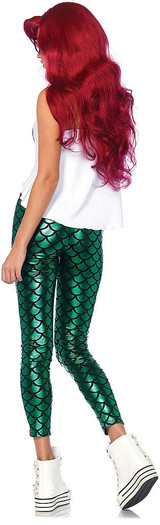 Hipster Mermaid Costume Adult back
