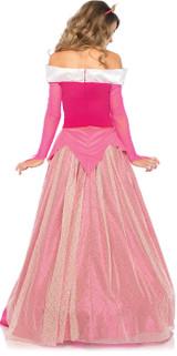 Princess Aurora Costume Adult back