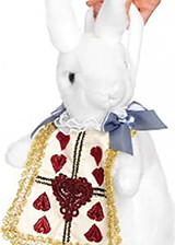 rabbit purse from wonderland