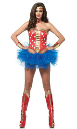 wonder woman halloween kit