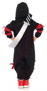 Ninja Kigarumi Girl Fleece Onsie with sword