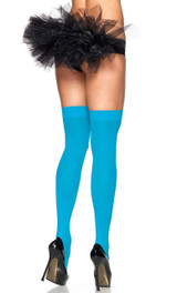 Blue Thigh High Opaque