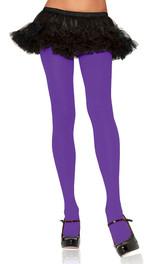Nylon Tights Purple Queen