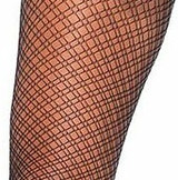 Duel Plaid Net Pantyhose