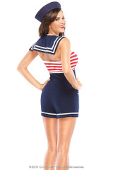 Pin-Up Sailor Girl back