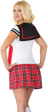 Anime School Girl Costume back