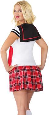 Anime School Girl Costume back