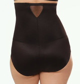 Miraclesuit Sheer Hi-Waist Brief Black Plus Size