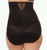 Miraclesuit Sheer Hi-Waist Brief Black Plus Size