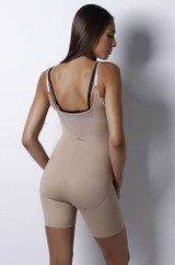 The Bodyglove WYOB Unitard Nude Regular & Plus Size back