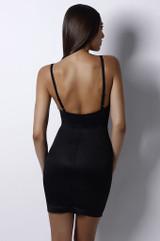SLIP into skinny underwire slip Black back
