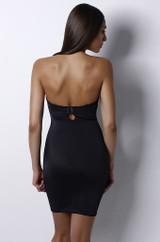 Bust-shaping Bodyslip Black back