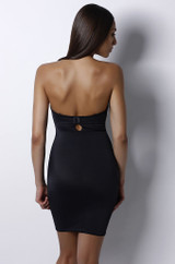 Bust-shaping Bodyslip Black back